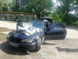 У Чернівцях патрульні зупинили водія BMW, який був під дією наркотиків