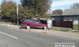"""На Буковині не розминулися ВАЗ та """"Renault"""""""