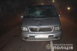 На Буковині мікроавтобус збив пішохода, чоловік помер у реанімації