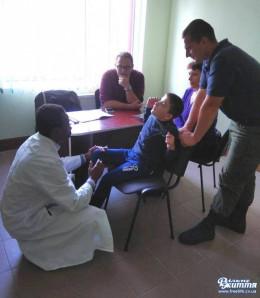 Нейрохірурги з Італії обстежували хворих на Буковині