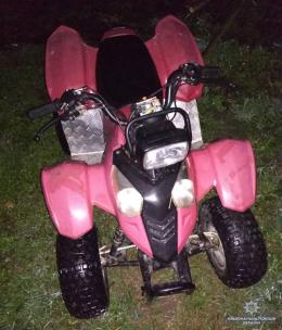 На Буковині в Чорториї затримали чоловіка, який викрав квадроцикл