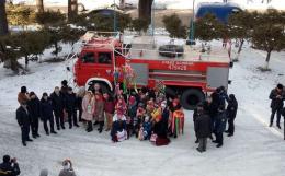 Поляки подарували вижницьким рятувальникам пожежний автомобіль