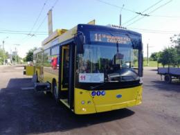 У Чернівцях тимчасово припинить курсувати тролейбус №11
