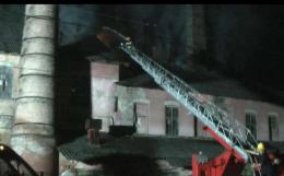 Рятувальники розповіли подробиці пожежі на цегельному заводі у Чернівцях (фото)