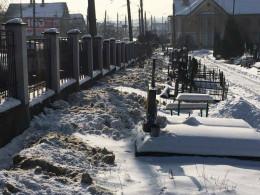 Через випадок із відкиданням снігу оштрафували директора кладовища