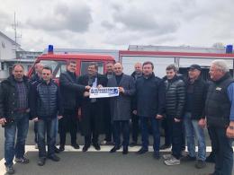 Недобоївська ОТГ отримала пожежний автомобіль з Німеччини (фото)