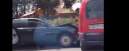 У Чернівцях на Січових Стрільців зіткнулись два легковики (відео)