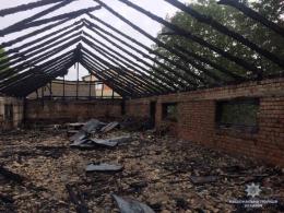Буковинські рятувальники підтвердили, що ресторан мера Заставни підпалили