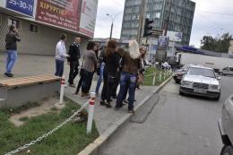 """Чернівчани пропонують облаштувати тролейбусну зупинку поблизу """"Формаркета"""""""