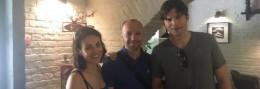 Голівудські зірки Міла Куніс та Ештон Катчер прогулялись Чернівцями
