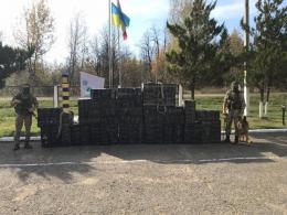 Біля кордону на Буковині затримали партію контрабандних сигарет на понад 600 тисяч
