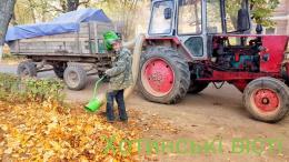 У Хотині будуть пилососити опале листя і вивозити на сміттєзвалище