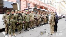 Поліцейські з Буковини відправилися на службу в зону ООС