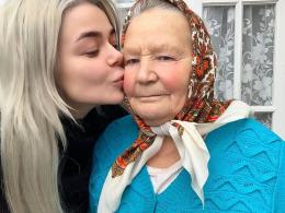Аліна Гросу показала свою бабусю з Буковини