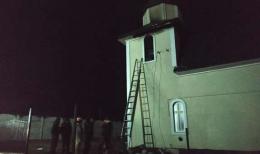 У Кіцмані горіла дзвіниця у церкві