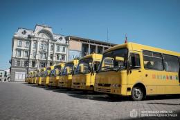 На Буковині 10 шкіл отримають нові автобуси