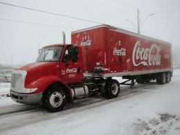 Стало відомо, коли до Чернівців приїде славнозвісна вантажівка Coca-Cola