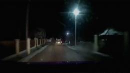"""На Буковині п'яний водій на """"Audi A6"""" тікав від патрульних (відео)"""