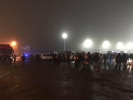На Буковині на «Порубному» утворилася черга з фур (фото)