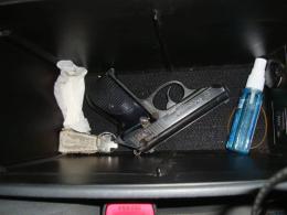 На Буковині собака допоміг прикордонникам знайти пістолет