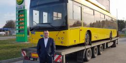 До Чернівців везуть два нові тролейбуси (фото)