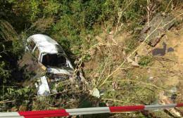 З`явилися фото трагедії, де під час чемпіонату з авторалі загинув автогонщик