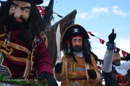 У Вашківці на Маланку приїхав Путін з грузинами, гноми та пірати