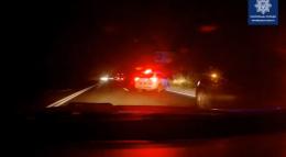 У Чернівцях п'яний водій намагався втекти від патрульних