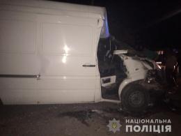 Водій мікроавтобуса «Mercedes» напідпитку в'їхав у «ЗІЛ», загинув 10-річний хлопчик (фото)