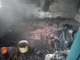 На Буковині в масштабній пожежі загинув пенсіонер