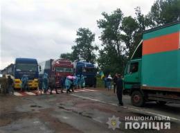 На Буковині пікетувальники заблокували ще одну трасу