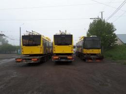 До Чернівців прибули нові тролейбуси на автономному ходу