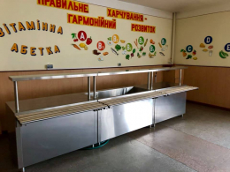 Обладнання для «шведських столів» іржавіє у школах Чернівців