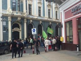 """У Чернівцях невідомі повідомили про замінування на місці проведення """"Фестивалю рівності"""" (фото)"""