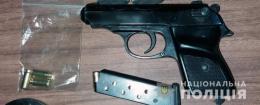 У Чернівцях поліція викрила буковинця, який незаконно зберігав зброю та боєприпаси
