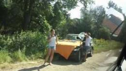 """На Буковині не розминулись вантажівка з """"BMW Х5"""" (фото)"""