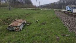 На Буковині зіштовхнулися трактор з причепом і потяг