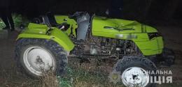 У Ржавинцях на мосту перекинувся трактор, водій загинув на місці