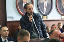 """депутати міськради Бешлей та Ковалюк """"поцупилися"""" з Сергієм Обшанським"""
