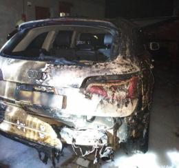 У Чернівцях невідомі підпалили «Audi» (фото)