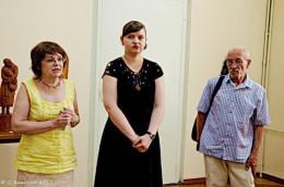 У Чернівцях в художньому музеї відкрилась виставка пам'яті Володимира Денисова