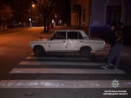 У Чернівцях невідомий викрав припаркований біля під'їзду «Жигулі» (фото)