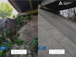 На Буковині відремонтували аварійний міст через річку