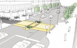 У Чернівцях пропонують звузити проспект Незалежності та виокремити для автомобілів «кишені» для парковки