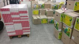 На Буковині через кордон намагались перевезти цигарок майже на 3 мільйони (фото)