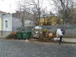 Вулиці Чернівців переповнені сміттям, санітарний стан незадовільний (фото)