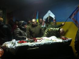 На Буковині прощаються із загиблим у зоні АТО бійцем батальйону «Донбас» (фото)