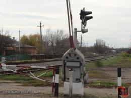 У селі Припруття на Буковині перекрили залізничний переїзд