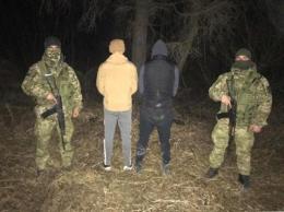 На буковинському кордоні затримали позашляховик з порушниками