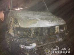 На Буковині автівка врізалась в огорожу і спалахнула, водій загинув у салоні